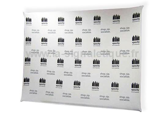 stand parapluie - grande surface d'affichage