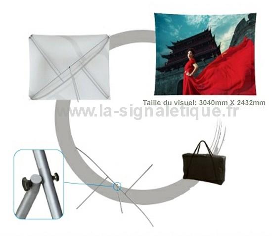stand parapluie - un grand visuel