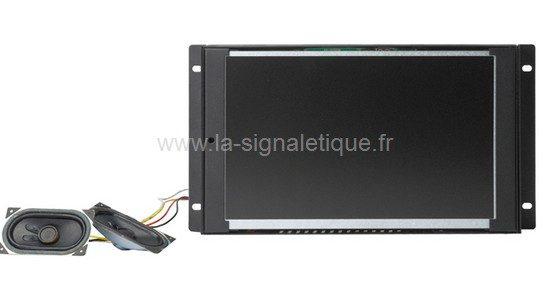 écran Lcd - modèle encastrable avec la sonorisation